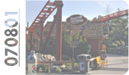Project #070801 - Pony Express Coaster at Knott's Berry Farm